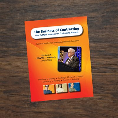 Frank Blau's® 'Business of Contracting' eBook