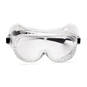 Pyramex Perforated Clear Safety Goggle